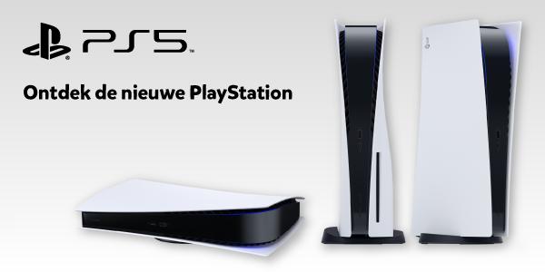 Ontdek de nieuwe PlayStation 5 bij Intertoys
