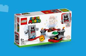 LEGO Super Mario uitbreidingsset Whomps lavafort 71364