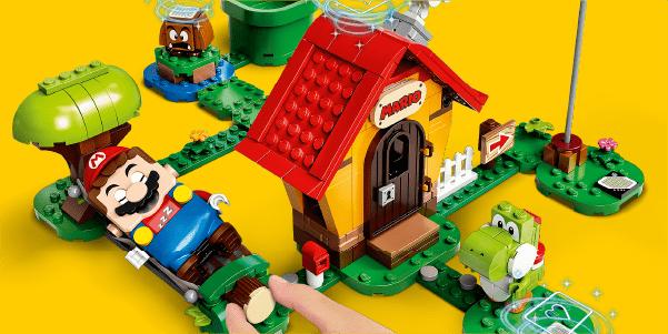 LEGO Super Mario en Yoshi