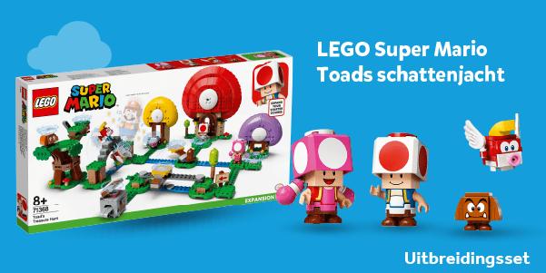 LEGO Super Mario Toads schattenjacht uitbreidingsset