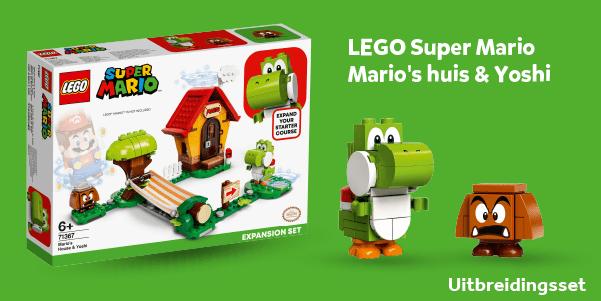 LEGO Super Mario Mario's huis & Yoshi uitbreidingsset