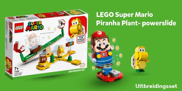 LEGO Super Mario Piranha Plant-powerslide uitbreidingsset