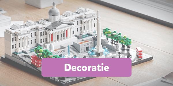 Bekijk alle decoratie bouwsets van LEGO