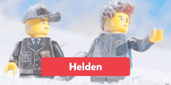 Bekijk alle helden van LEGO