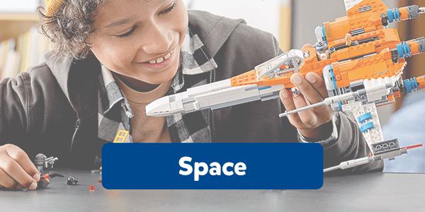 Bekijk alle ruimtevaart bouwsets van LEGO