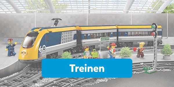 Bekijk alle treinen van LEGO