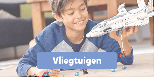 Bekijk alle vliegtuigen van LEGO
