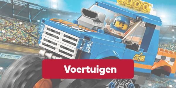 Bekijk alle auto's van LEGO