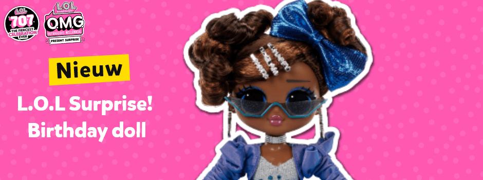 Nieuw L.O.L. Surprise! Birthday doll