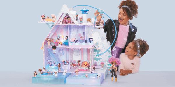 L.O.L. Surprise! speelhuis met moeder en kind