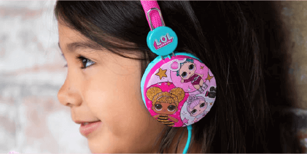 L.O.L. Surprise! Glitterati junior koptelefoon
