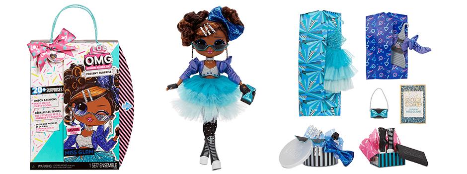 L.O.L. Surprise! Birthday doll Miss Glam