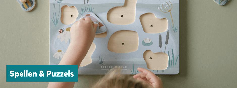 Spellen en puzzels van Little Dutch