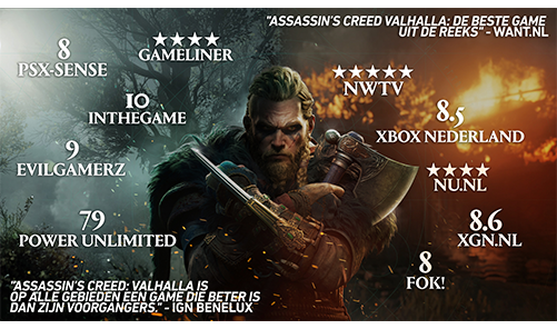 Assassin's Creed Valhalla reviews