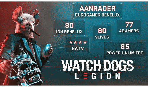 Watch Dogs Legion reviews