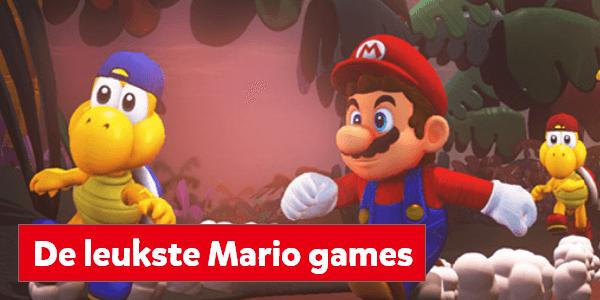 De leukste games van Mario voor de Nintendo Switch