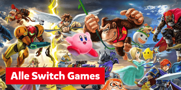 Alle games voor de Nintendo Switch