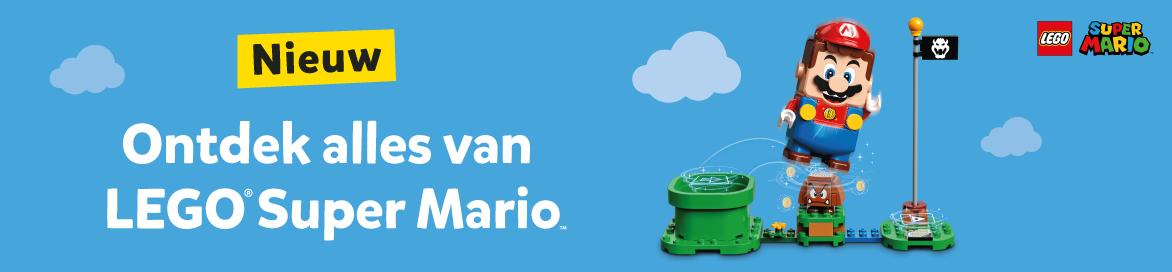 Ontdek de LEGO Super Mario startset en uitbreidingssets bij Intertoys