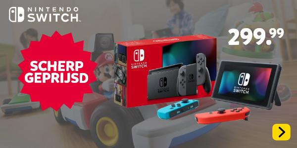 Nintendo Switch scherp geprijsd!