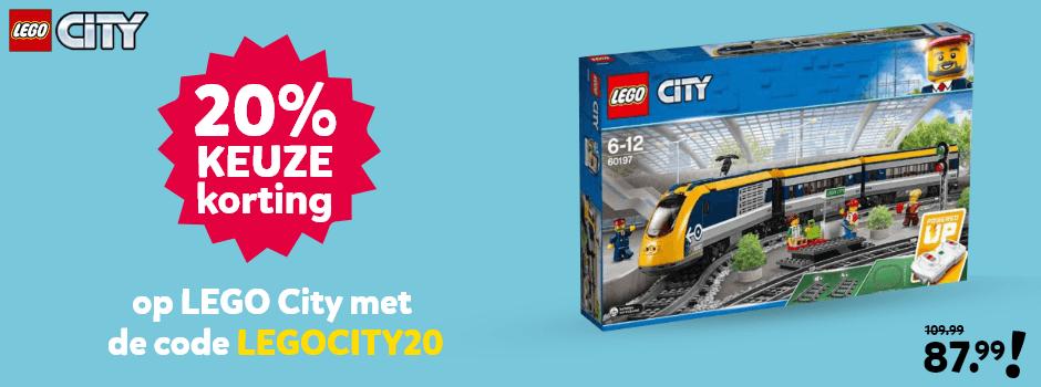 LEGO City met 20% kortingscode
