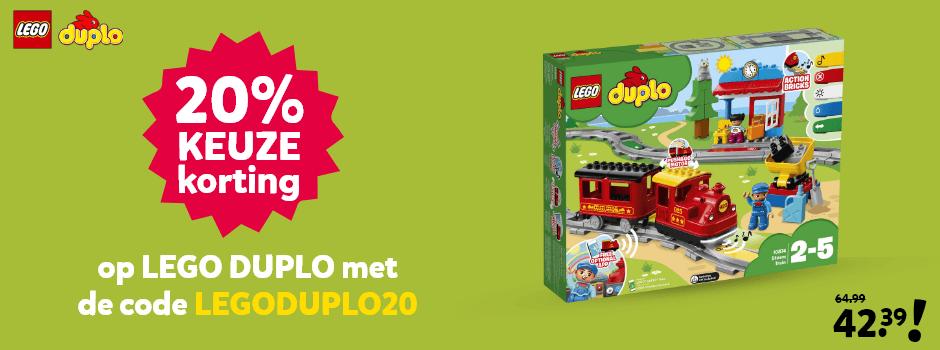 LEGO DUPLO met 20% kortingscode