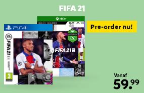 FIFA21 pre-order voor PS4, Xbox