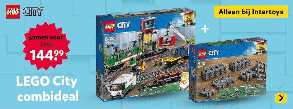 LEGO City Combi DEAL. Alleen bij Intertoys