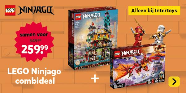 LEGO Ninjago combideal. Alleen bij Intertoys