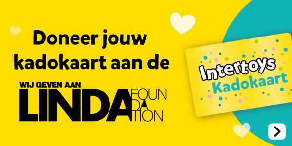 Doneer jouw kadokaart aan Linda Foundation