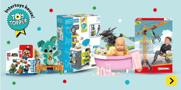 De beste keuze volgens Intertoys. Bekijk alle Toy toppers uit het Speelboek!