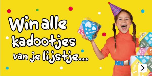Win alle cadeautje van je verlanglijstje uit het speelboek bij Intertoys!