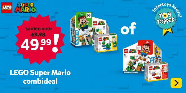 LEGO Super Mario Combi DEAL. Alleen bij Intertoys