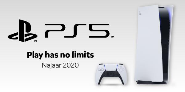 PlayStation 5 najaar 2020 bij Intertoys