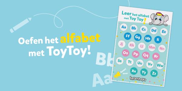 Oefen het alfabet met ToyToy!