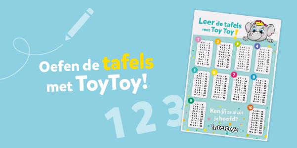 Oefen de tafels met ToyToy!