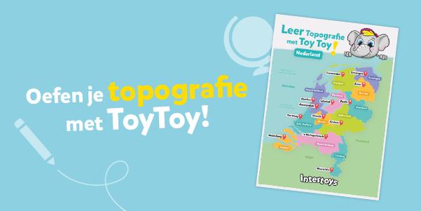 Oefen je topografie met ToyToy!