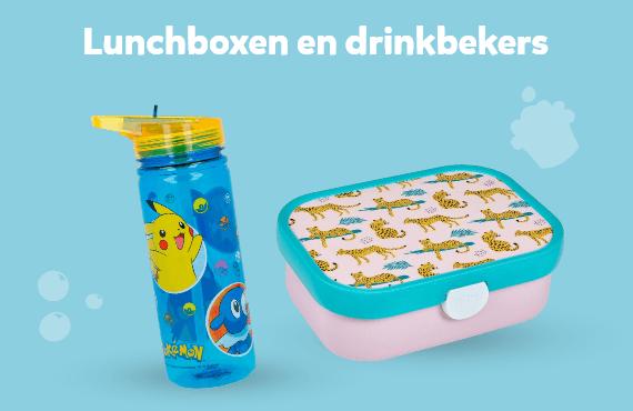 Lunchboxen en drinkbekers