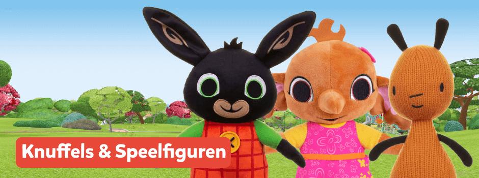 Bing knuffels en speelfiguren