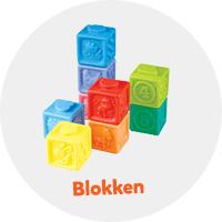 Blokken voor baby's en peuters
