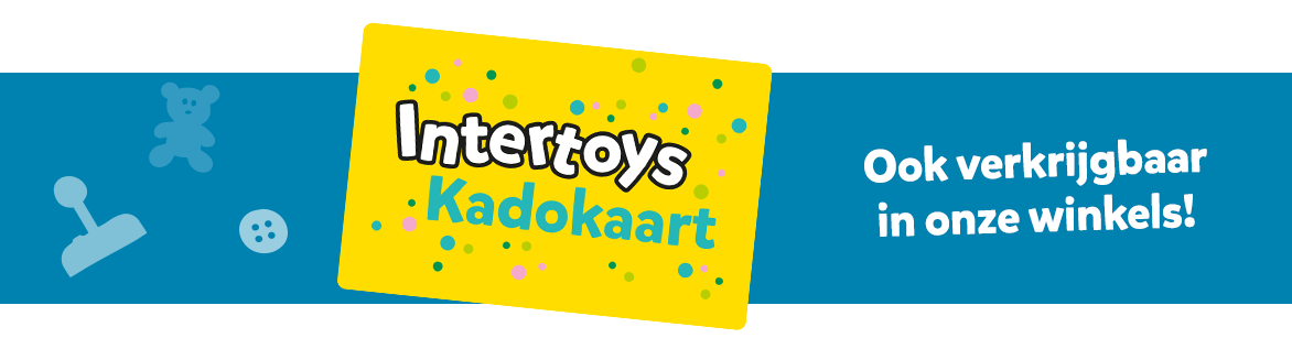 Intertoys Kadokaart ook verkrijgbaar in onze winkels!