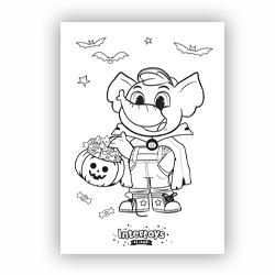 TO-DOe! Kleurplaat Halloween Trick or Treat