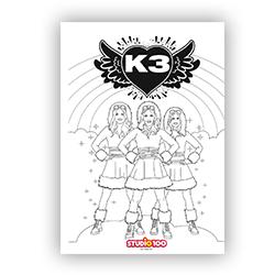 K3 kleurplaat