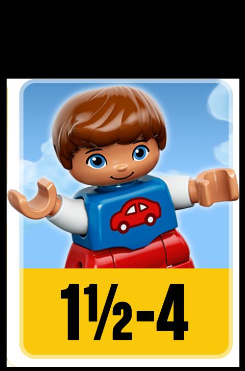 LEGO sets voor de leeftijd 1,5 tot 4 jaar