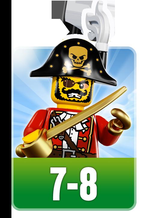LEGO sets voor de leeftijd 7 tot 8 jaar