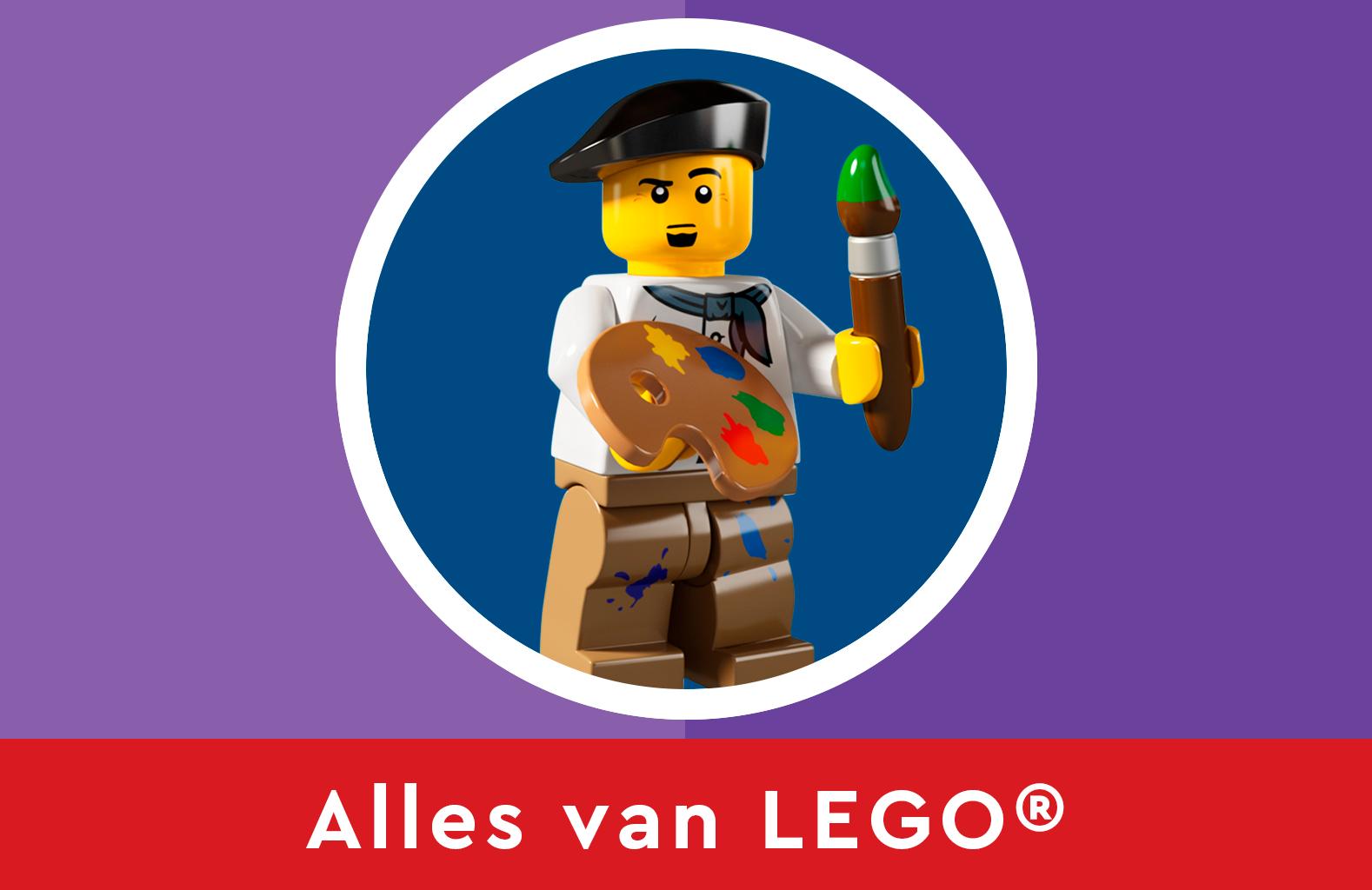 Ontdek alles van LEGO