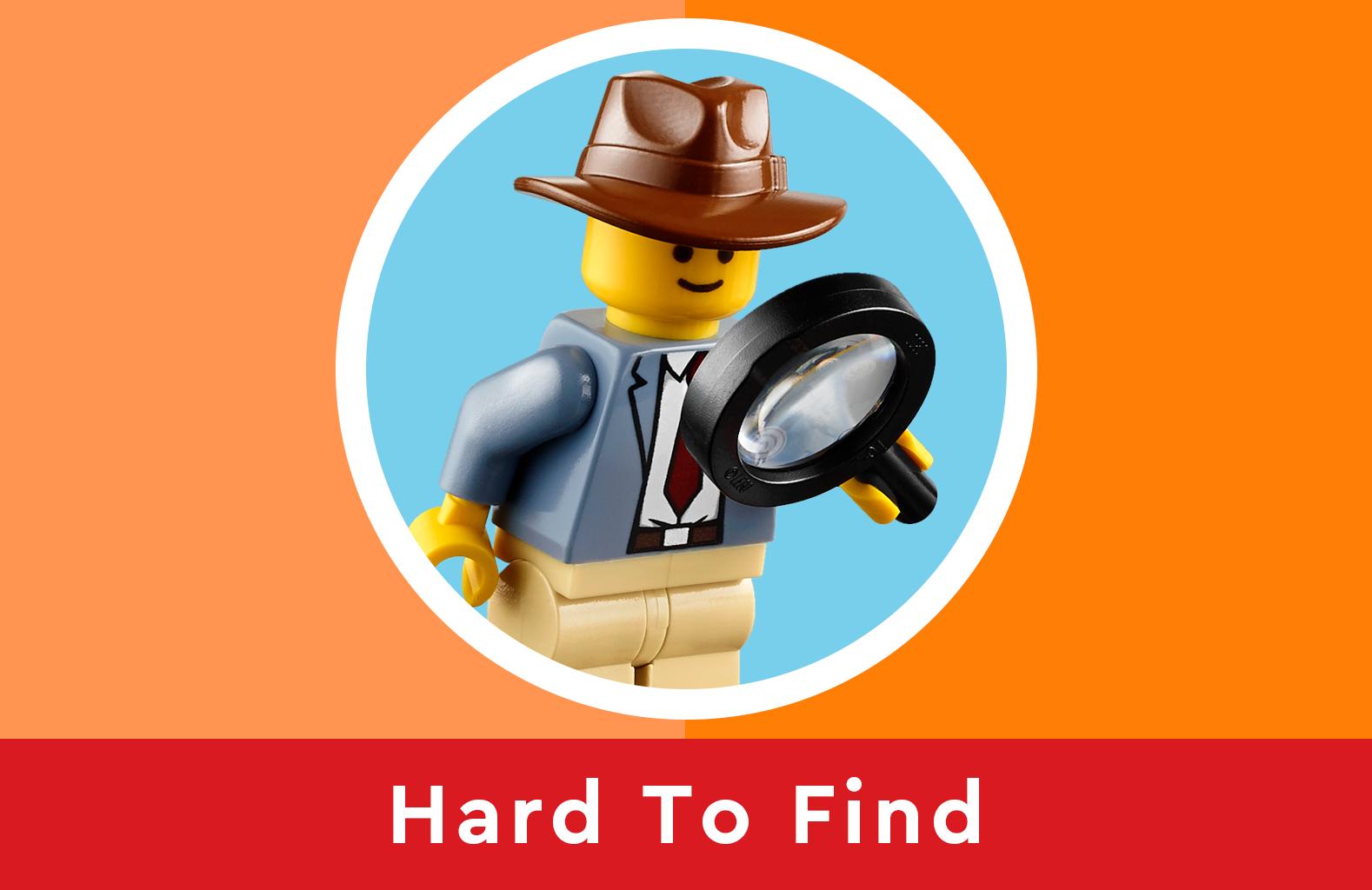 LEGO hard to find artikelen