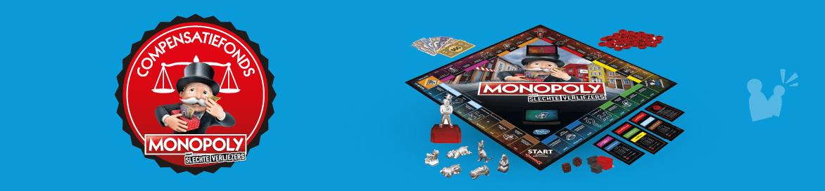 Compensatiefond Monopoly Slechte Verliezers
