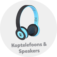 Koptelefoons en speakers