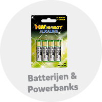 Batterijen en powerbanks