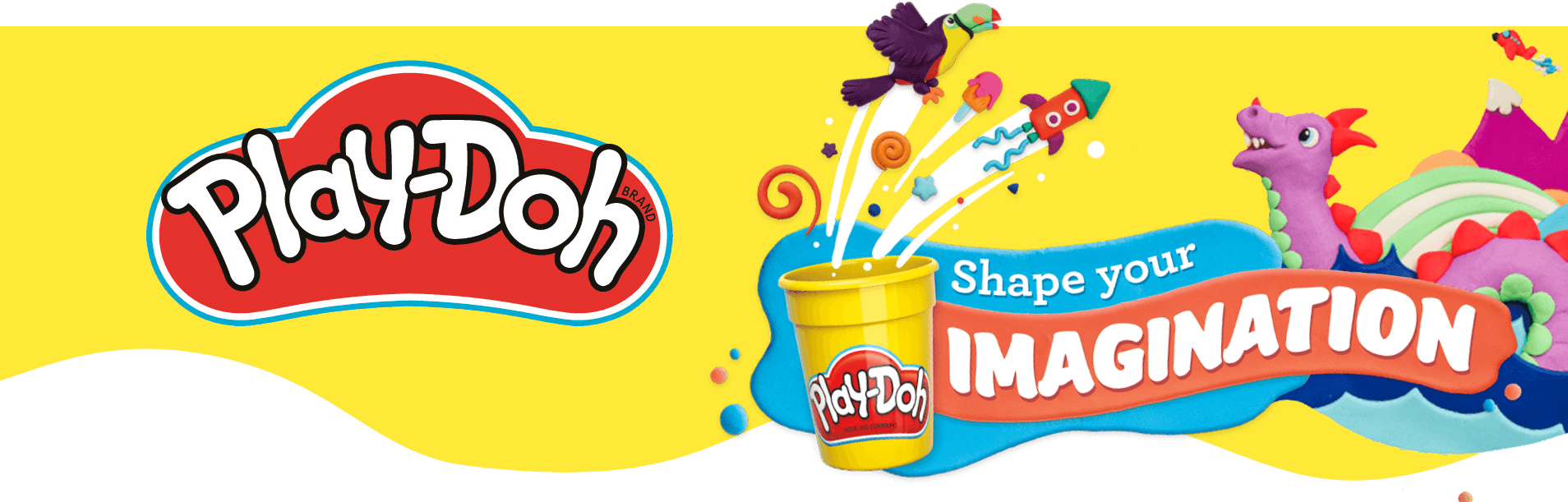 Play-Doh shape your imagination